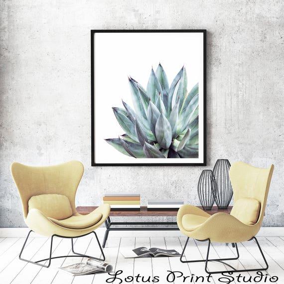 Cactus Print Aloe Vera Plant Prints Bear Leaf Printable Wall Art Photography Tropical Digital Download 263