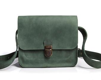 fbf74f92a31c Green crossbody bag