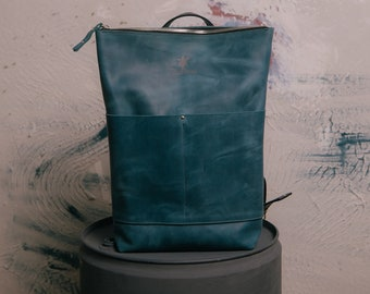Leather Backpack Gift 583e825703322