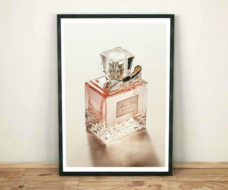 Dior Print Impression De Parfum Bouteille De Parfum Dior Etsy