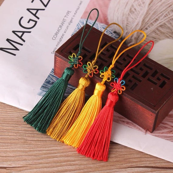 TB0213   1piece 63CM Chinese knot tassels pendants Numbers in the pictures stands for the corresponding color