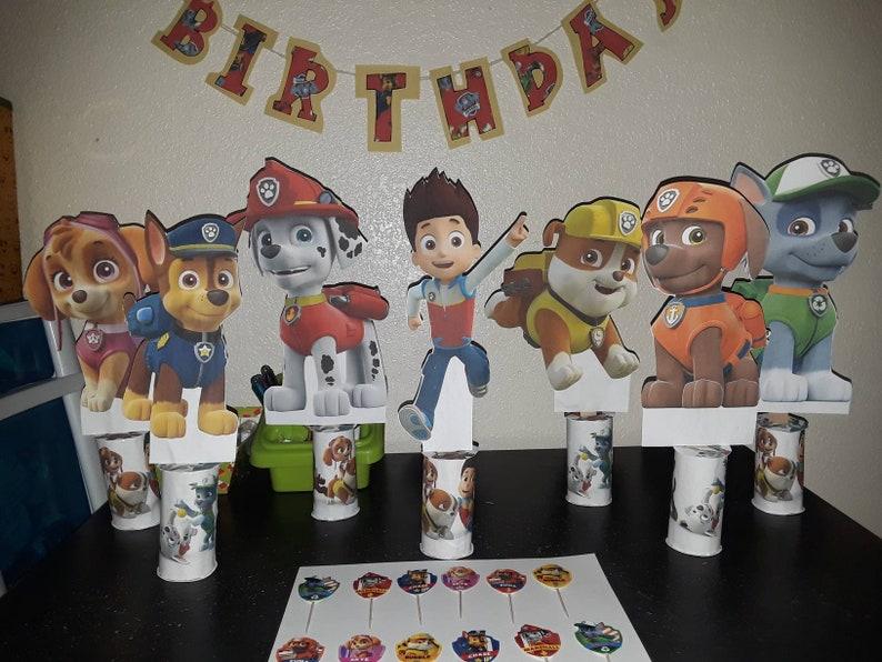 Birthday Centerpieces