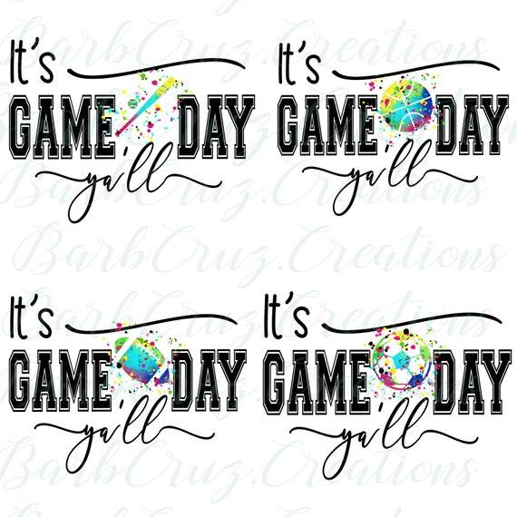 Hoodie Football Soccer Baseball Basketball Game Day Yall