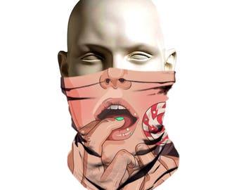 Ski Mask for women - Sexy Face 3d Ski Mask - Bikers mask  f09b1a634