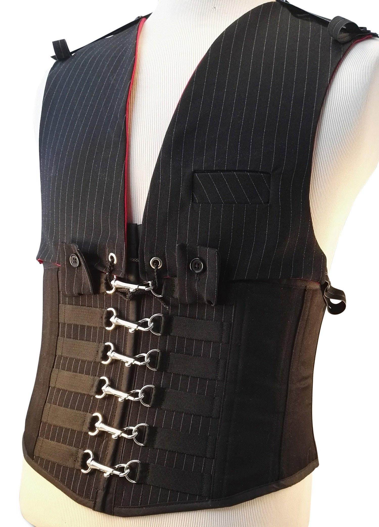 c841f25e4 SteelBoned Underbust Corset in Leather CS411Iquotve heard that