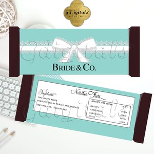 5.25x5.752 Per Sheet {Satin Ribbon} Personalized Party Favors Thank You| Printable Digital PDF JPG Quincea\u00f1era Candy Bar Wrappers