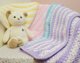 Crocheted Super Soft Baby Blanket