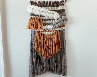 Weaving wall hanging, wall decor, woven wall hanging, tapestry,  home decor, wool decor