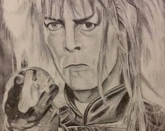 David Bowie As The Goblin King
