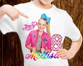 JoJo Siwa Birthday Shirt Party Personalized OutfitA048