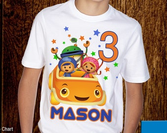 Team Umizoomi Birthday Shirt
