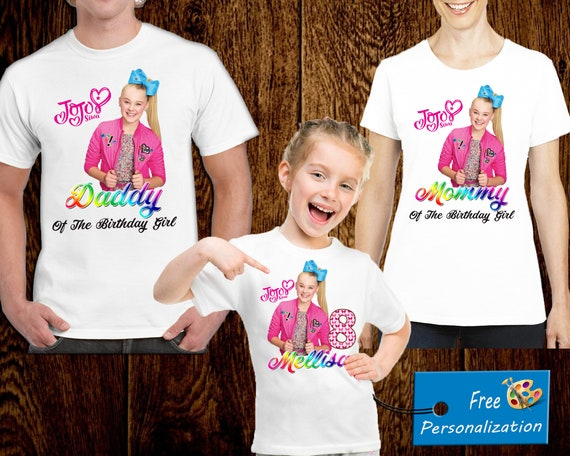 Jojo Siwa Birthday Shirt A048