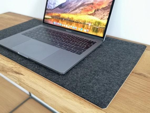 DESK MAT Black Wool Felt Desk Pad Wool Felt Desk Blotter | Etsy