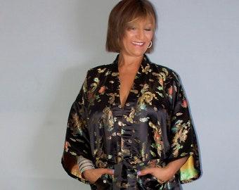 889c920cdd Vintage silk robe