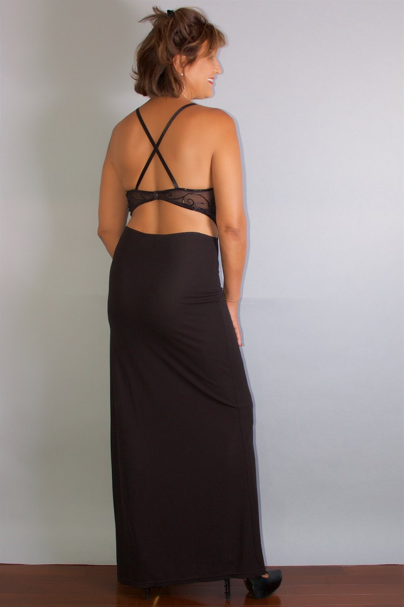 Women/'s Two Piece Formal Cocktail Dress by bebe Size Medium