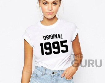 24th Birthday Shirt 1995 24 Gift Girl