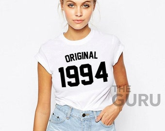 25th Birthday Shirt 1994 25 Gift Girl