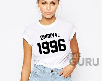 23rd Birthday Shirt 1996 23 Gift Girl