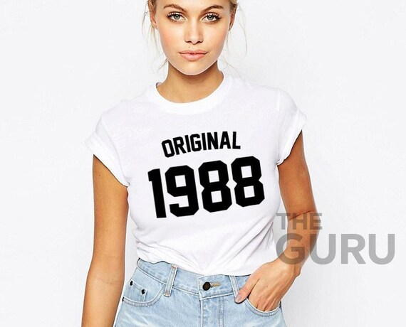 31st Birthday Shirt 1988 31