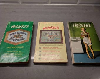 "Vintage Heloise ""Apron Pocket"" Guides"