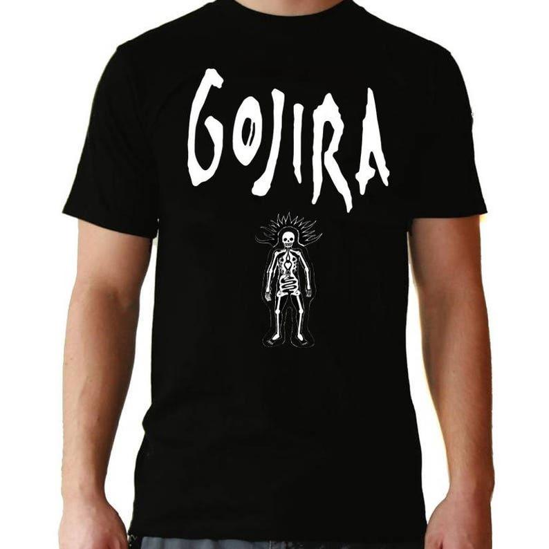 Camiseta tamaños de Death niño diferentes de Metal Gojira PZukTwOXi