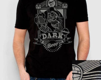 Dark beer men t shirt different sizes dark vader funny shirt
