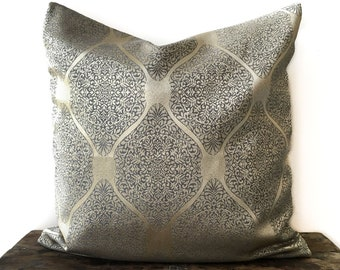Champagne Gold Moroccan Pillow cover