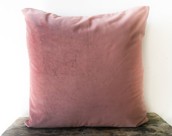 Pink Velvet Pillow Covers 16X16 18X18