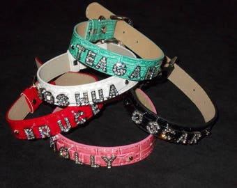 Personalised Dog Collar - Large