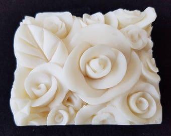 White Rose Natural Soap