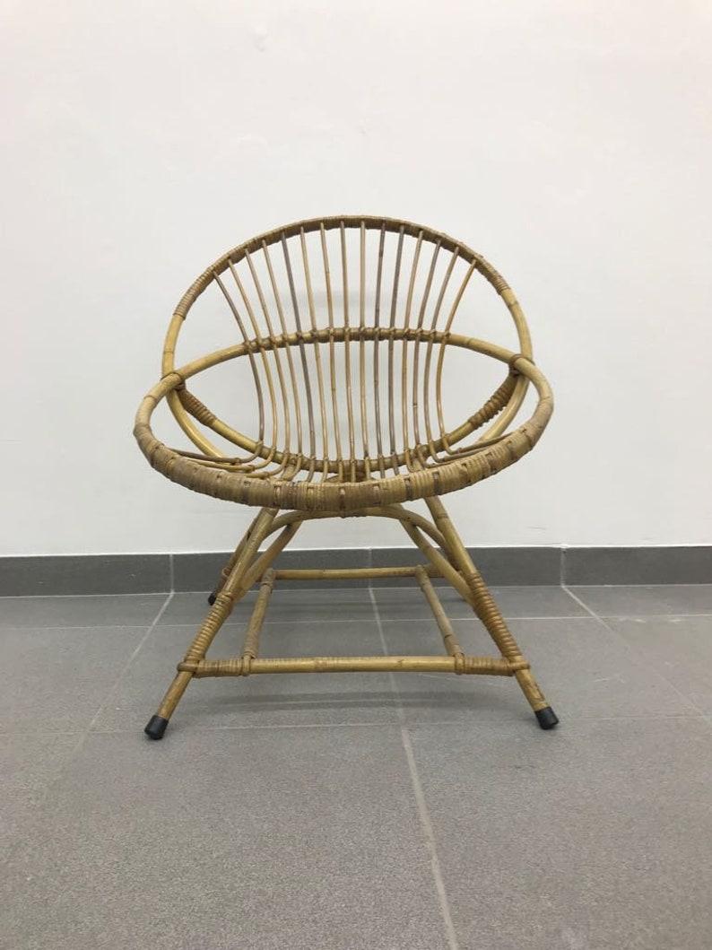 Rattan Chair 1960 /'s rattan chair