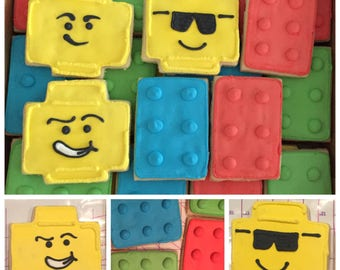 Lego Cookies (Gluten Free Available)