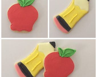 Back To School Cookies (Gluten Free Available)