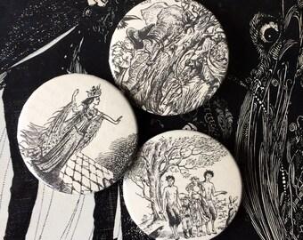 Narnia Badge Set | handmade by xphaiea