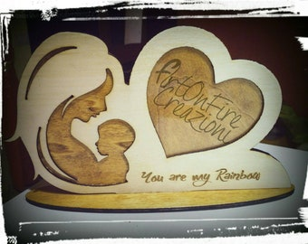 Wooden Maternity photo frame