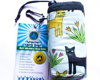 Full set! Amazing Reusable Bags !!!  Cats