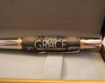 "Hand Made Mesa Style Pen ""Amazing Grace"""