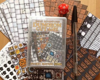 Inked Adventures Dungeon Cut-Ups Cards Pocket Edition