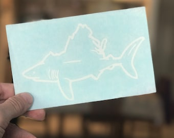 VA SHARK DECAL