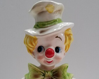 Vintage Hobo Clown Planter Replo #6045
