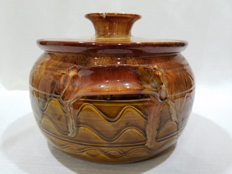 Furidashi Teaware Jar \u3075\u308a\u3060\u3057 cone 10 Golden Ash Glaze on Dark Stoneware