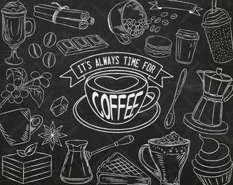 Coffee Chalkboard Etsy