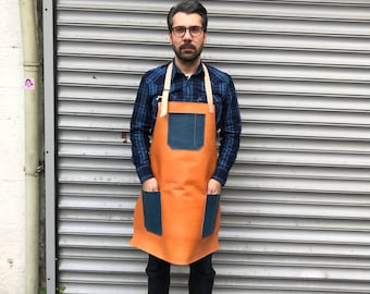 Union&Co. Veg tan leather apron