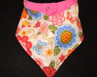Handkerchief drool bib