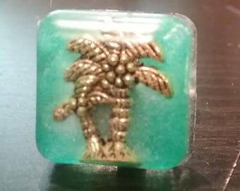 Tropical Palm Tree Cufflinks