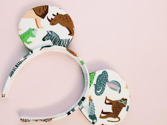 Safari animaux inspiré des oreilles de Minnie