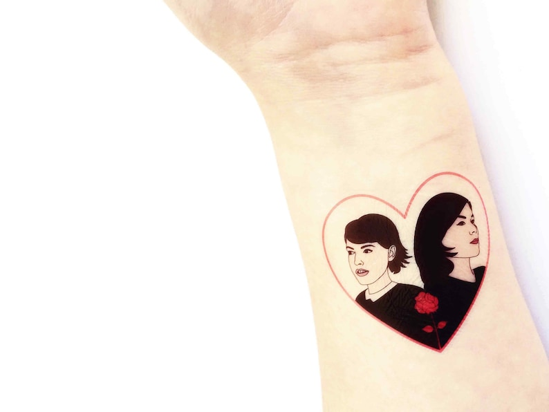 My Favorite Murder Temporary Tattoo featuring Karen and Georgia from ... deb0fd3061f