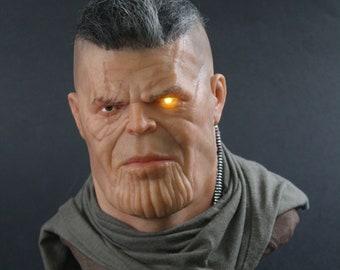 Cable/ Thanos Mini Sculpture