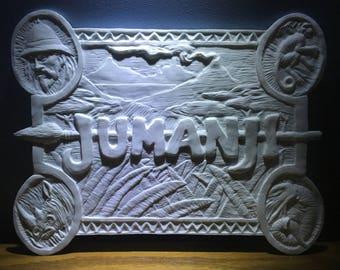 Jumanji Board Cover Casting