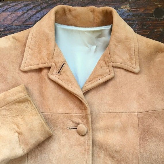50's Corral Sportswear Suede Leather Jacket Made i